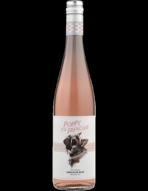 Poppy The Frenchie wine bottle