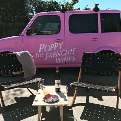 Poppy The Frenchie vegan wine